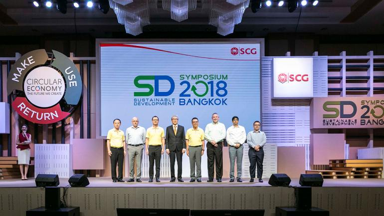 SCG joins in Thailand and abroad The scene of the year