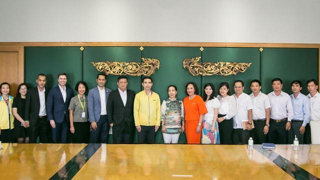 กลุ่มบีเจซี บิ๊กซี ให้การต้อนรับคณะจากสำนักงานอุตสาหกรรม และการค้าแห่งประเทศเวียดนาม