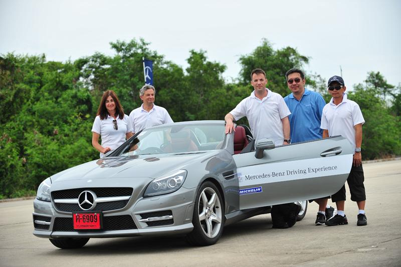 mercedes benz driving experience