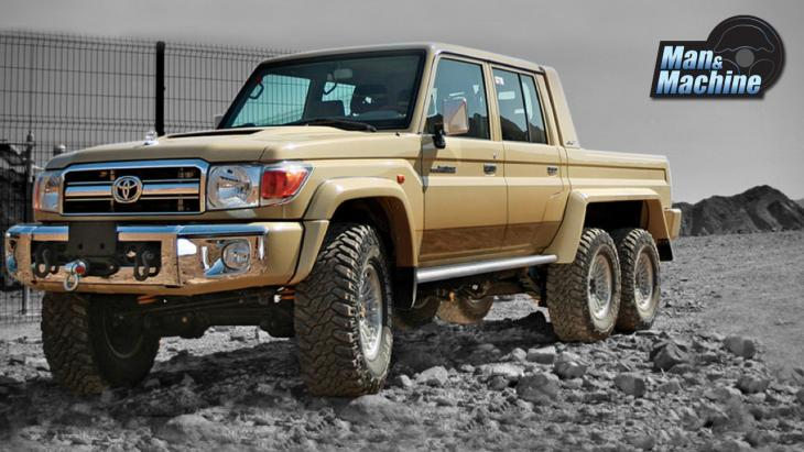 โหด 6 ล้อ!! Toyota Land Cruiser 6x6