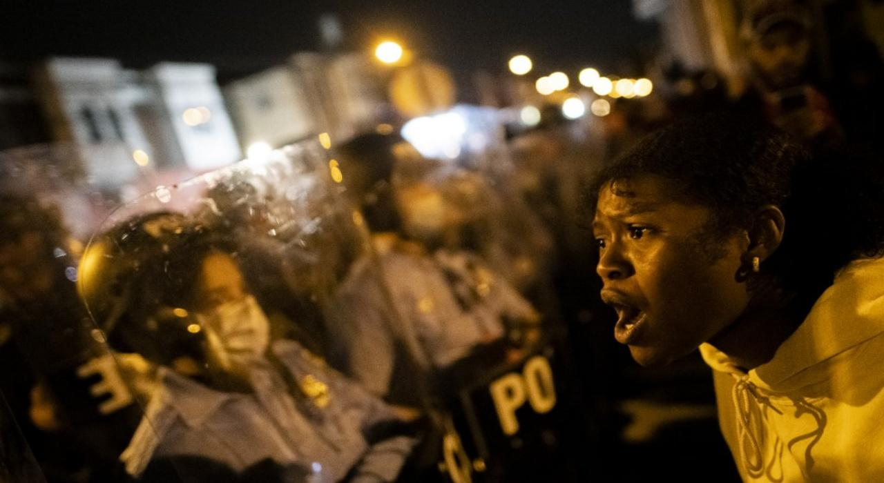 Philadelphia announces curfew after protest heats up Dtbezn3nNUxytg04N1N2tOsn6o7Pms40m5Gy40FpXY9Svp