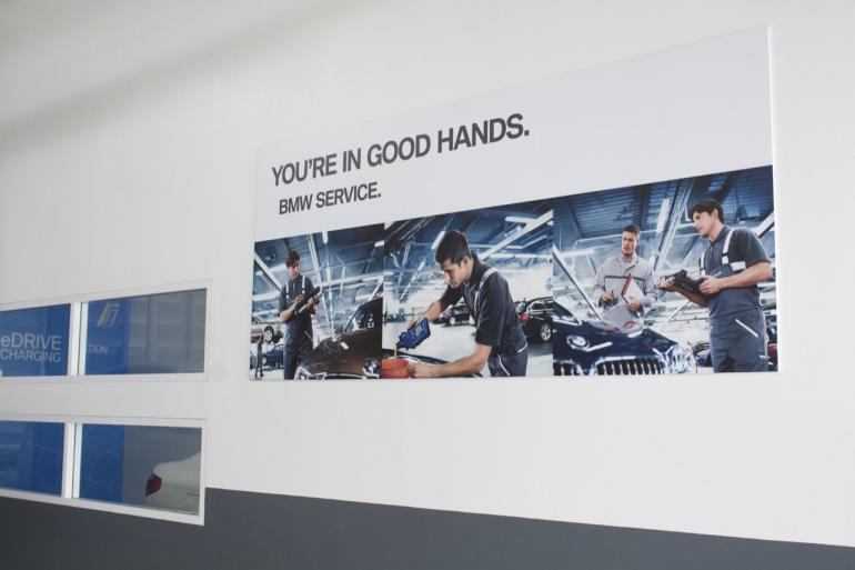 BMW SERVICE ONLY OUTLET The first BMW Repair Center in Thailand