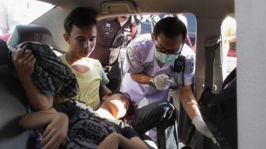 หน่วยกู้ภัย เข้าช่วยเหลือ จนสามารถคลอดลูกได้อย่างปลอดภัยทั้งแม่-ลูก